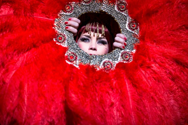 Xarah von den Vielenregen by Verena Gremmer, http://burlesquefotografie.de