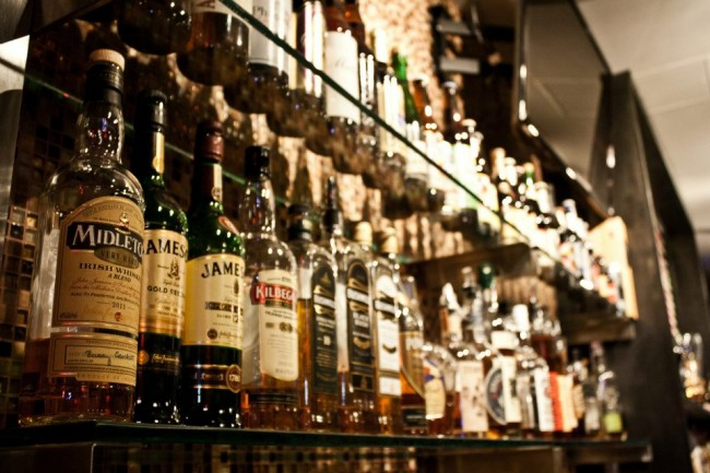 Buddha Beer Bar's Irish Whiskey Collection   Image courtesy of Buddha Beer Bar