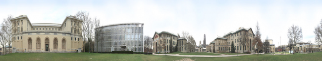 Carnegie Mellon University, panoramic view   Mike Albrecht/WikiCommons