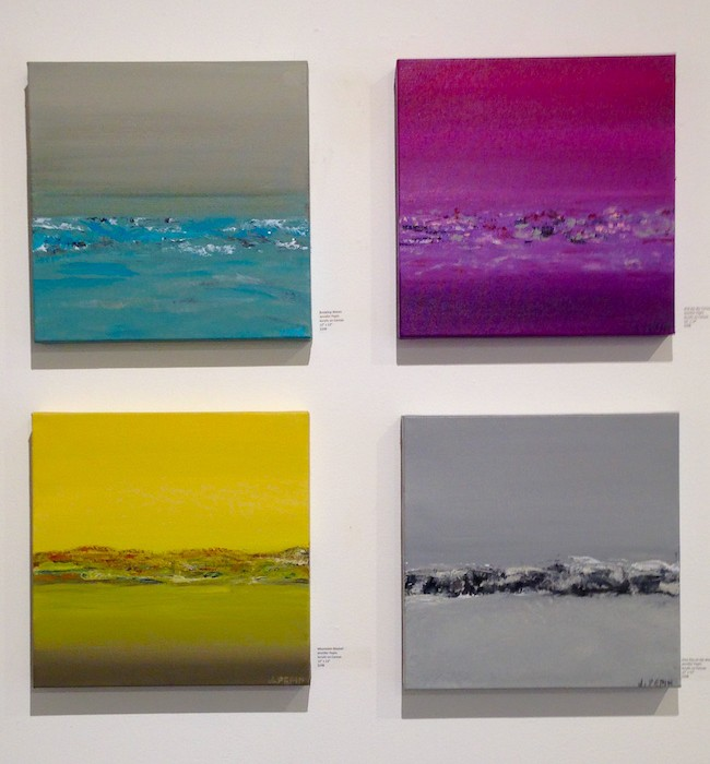 Landscapes by Jennifer Pepin | Courtesy of J. Pepin Gallery