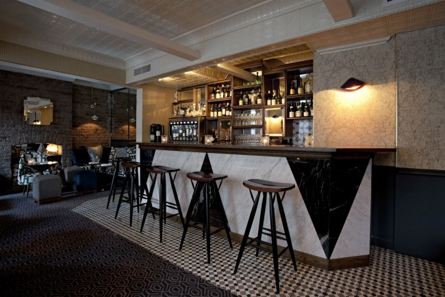 First Floor of Compagnie des Vins Surnaturels | Courtesy of Compagnie des Vins Surnaturels