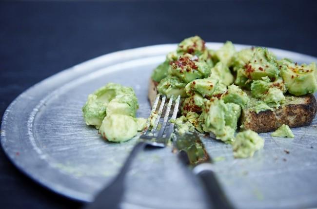 Avocado on Toast / Courtesy of Caravan Exmouth