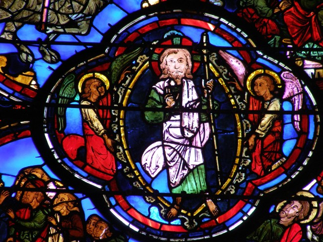 Bourges Cathedral Apocalypse Vitrail | ©Gdessenne/ WikiCommons
