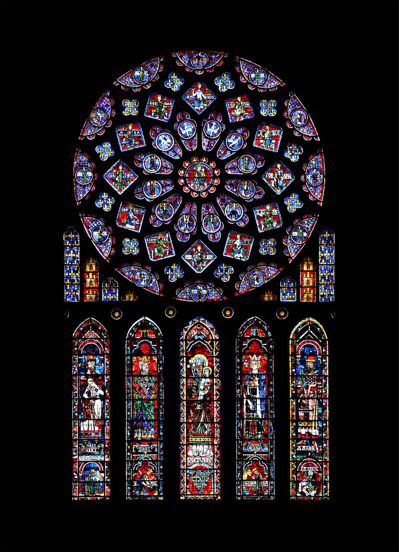 Leaded Stained Glass : France s most beautiful stained glass windows