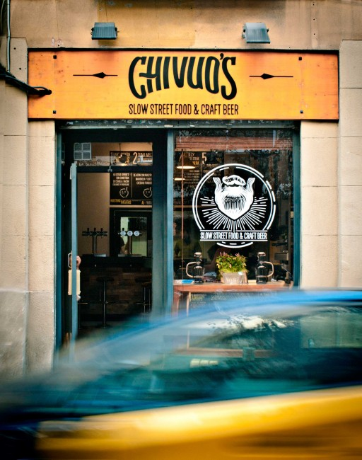 Chivuo's Slow Street Food & Craft Beer|Courtesy of Chivuo's