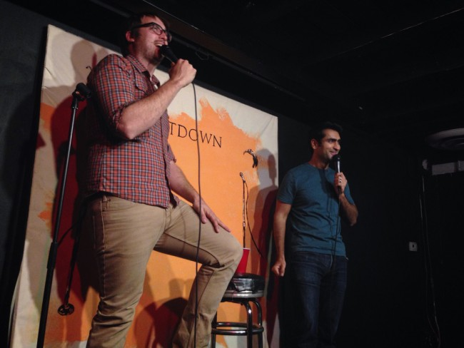 Jonah and Kumail host The Meltdown | © Steven Ray Morris