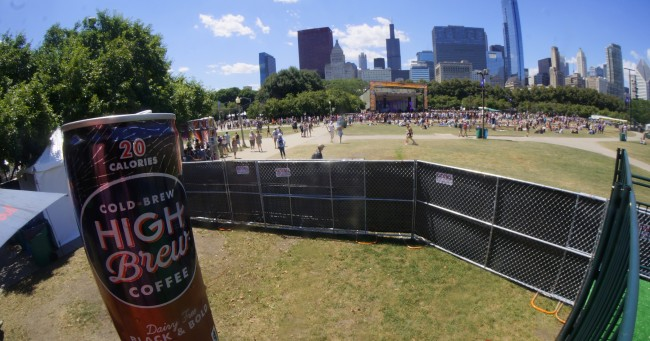 The view from the Lolla Lounge | © CestLaVibe.com