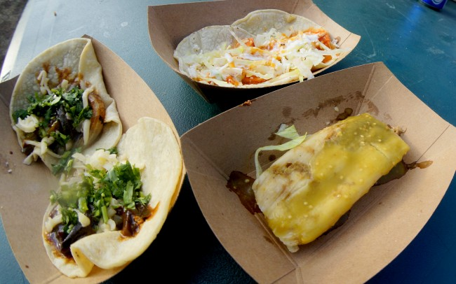 Tacos and tamales at Lollapalooza | © CestLaVibe.com