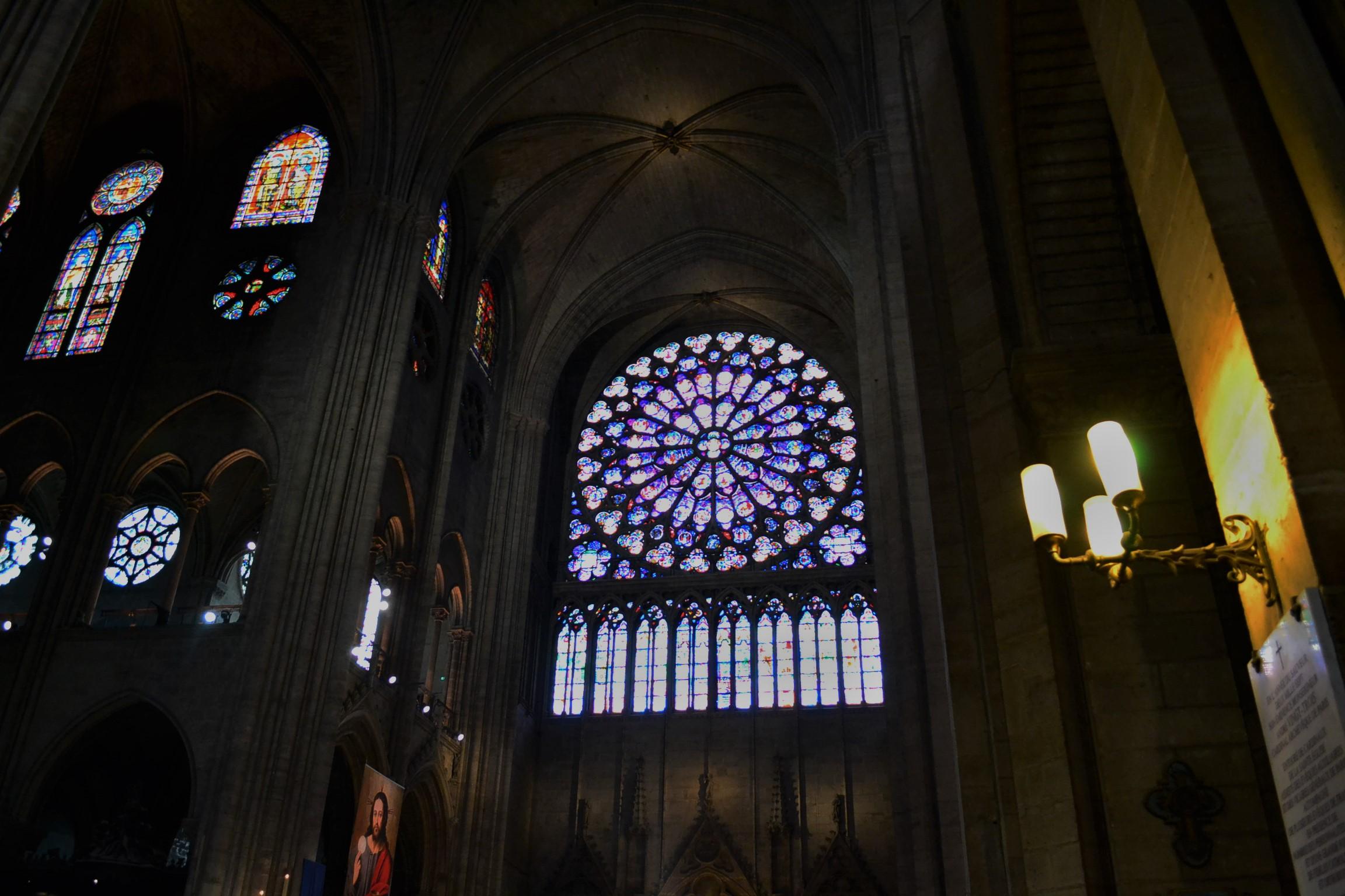 Notre Dame De Paris Rose Window
