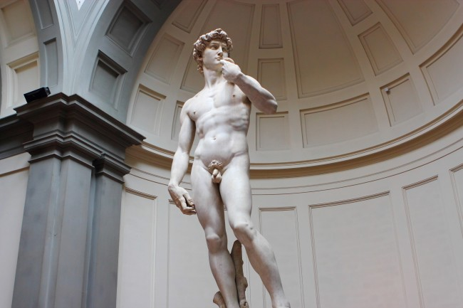 Michelangelo, David, Galleria dell'Accademia, Florence, 1501-1504 | © Justin Ennis/Flickr