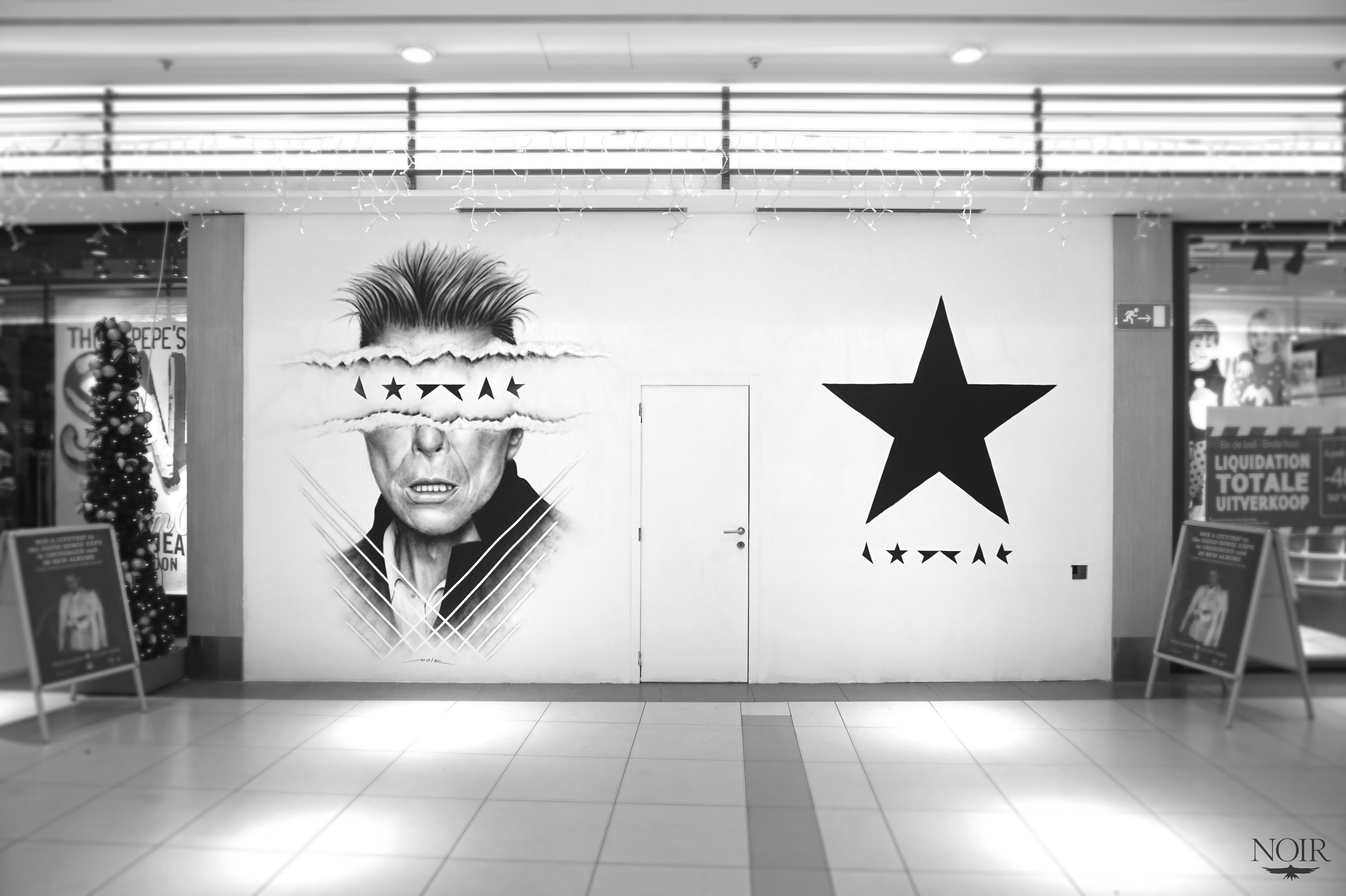 Artist Known As Noir S Black Amp White Murals