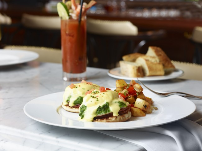 Eggs Benedict | Courtesy of db Brasserie