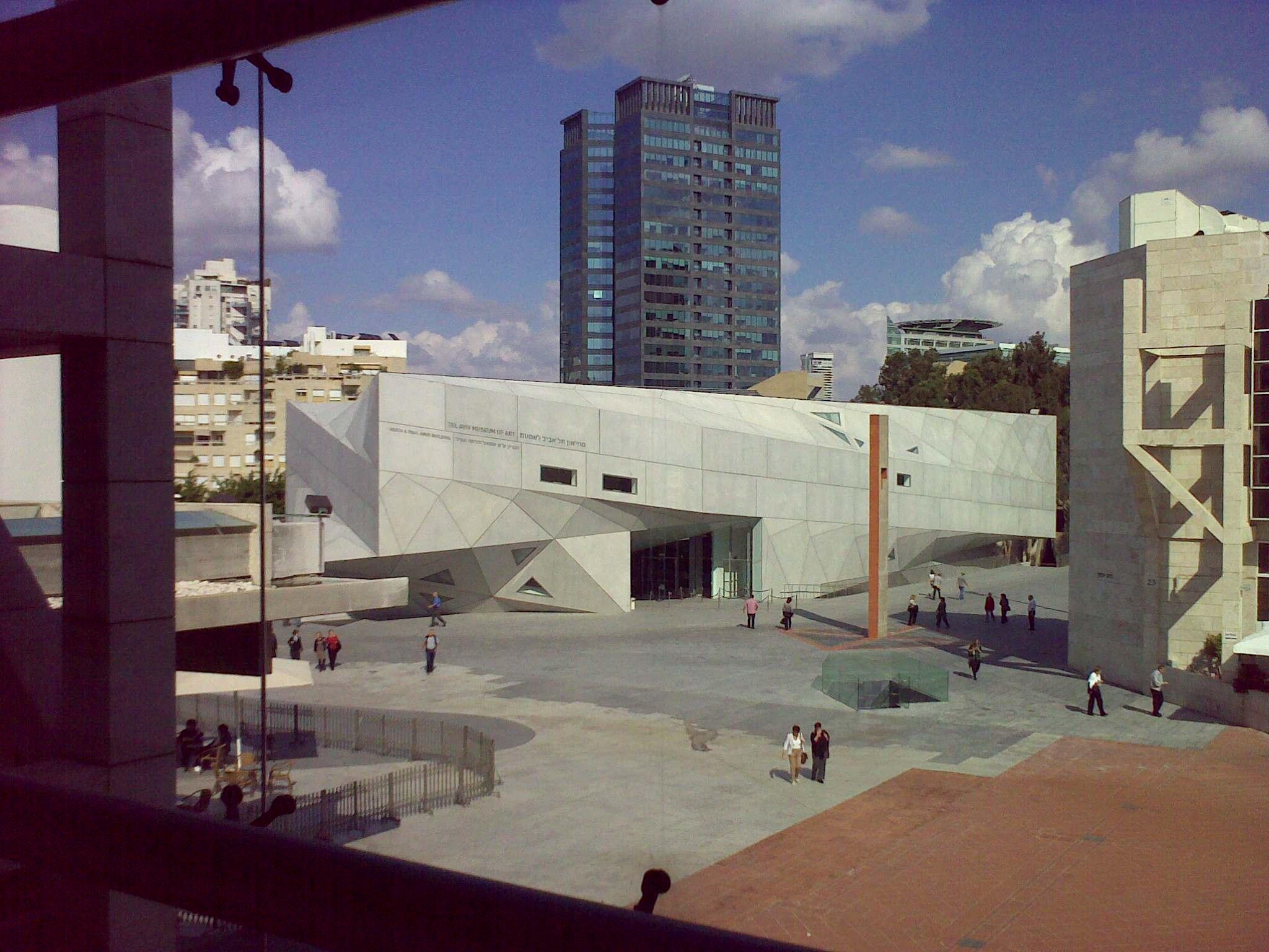 discover the best modern architects in tel aviv tel aviv museum of art yair haklai wikimedia