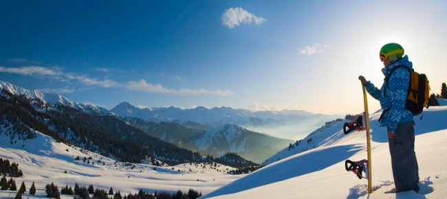 Catch some snow this winter. Image courtesy of HolidayMe