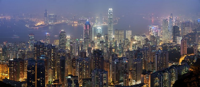 Hong Kong Skyline | © DAVID ILIFF/WikiCommons