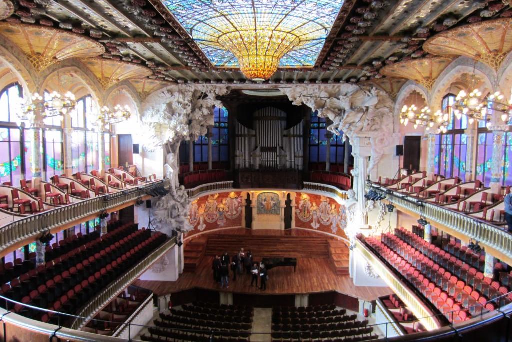 Palau de la Música Catalana | © Katherine Tolley