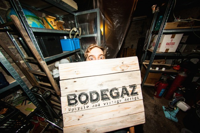 Jeroen Boogaerts at Bodegaz | Courtesy of Bodegaz