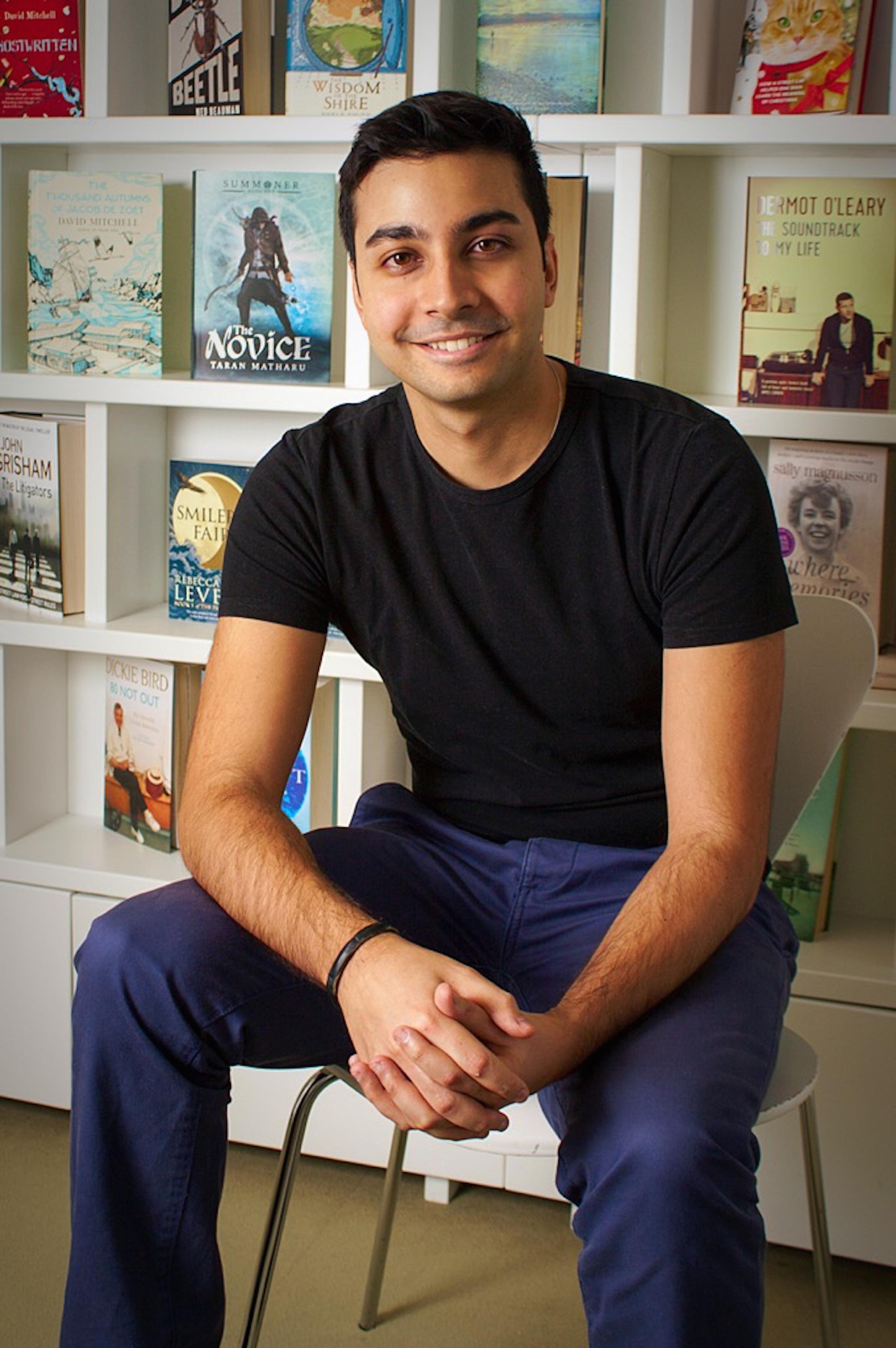 Taran Matharu at https://theculturetrip.com/europe/united-kingdom/england/london/articles/meet-london-based-author-of-summoner-the-novice-taran-matharu/