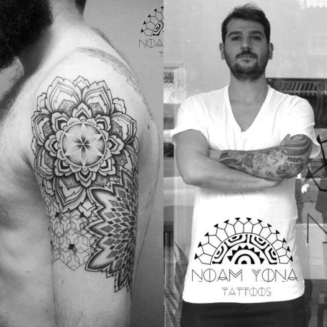 Noam Yona Tattoo's Courtesy of Noam Yona
