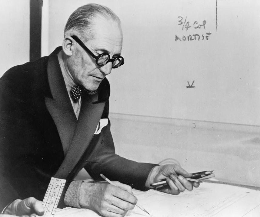 Le Corbusier by Susleriel