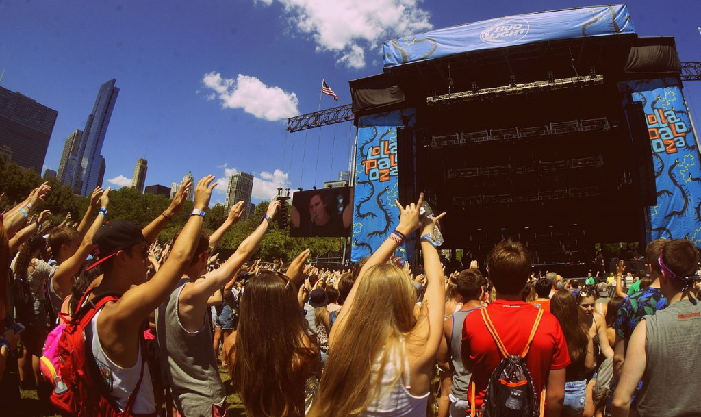 The Best Vip Food At The Lollapalooza Music Festival
