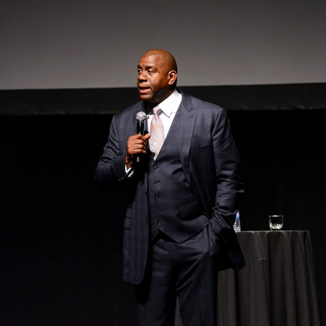 Magic Johnson | © Distinguished Speaker Series