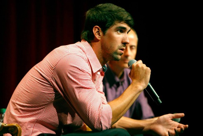 Michael Phelps | © Distinguished Speaker Series