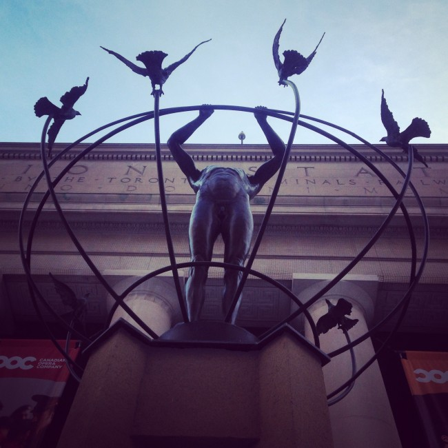 Monument to Multiculturalism – Worms Eye View | Nicole Egan