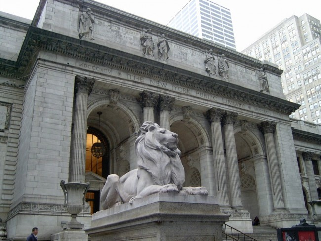 New York City Public Library front | © melanzane1013