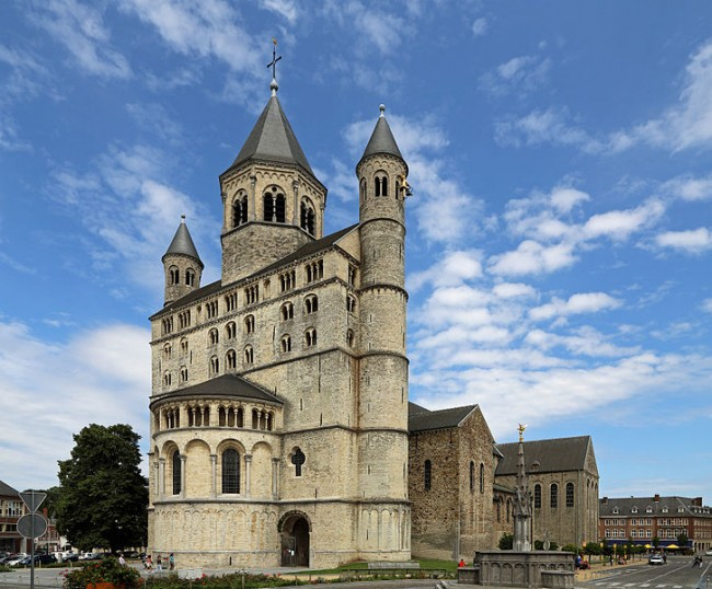 Collegiate Church of St. Gertrude in Nivelles | © Marc Ryckaert/WikiCommons
