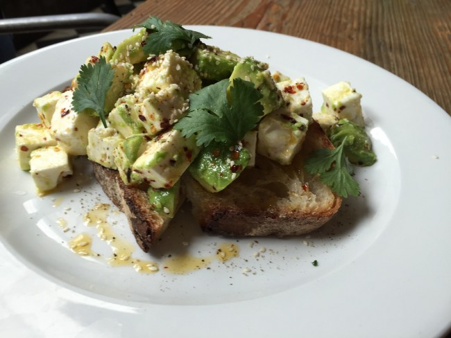 Avocado on Toast / Courtesy of No. 11 Pimlico Road