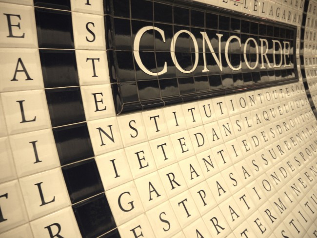 Concorde metro station |Courtesy of Natalie Adler
