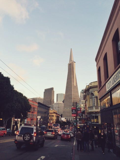 Transamerica Pyramid, viewed from Columbus Avenue | © Yoojin Shin, All Rights Reserved