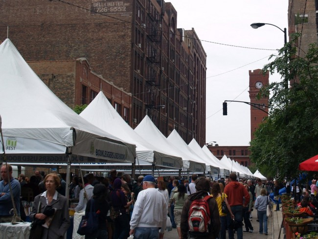 Printer's Row Fest | © Barb/Flickr