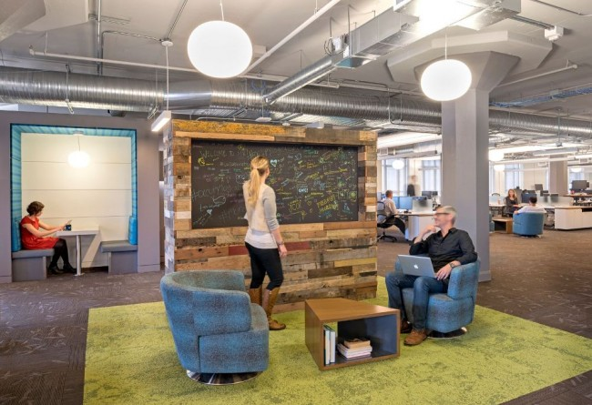 Coolest office spaces in san francisco for Beautiful office space design