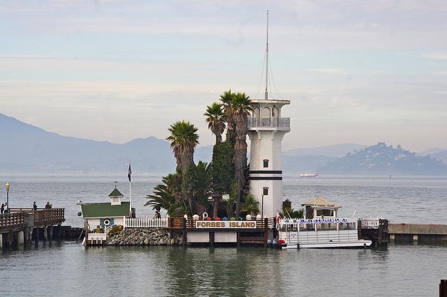 Forbes Island © David Merrett/Flickr