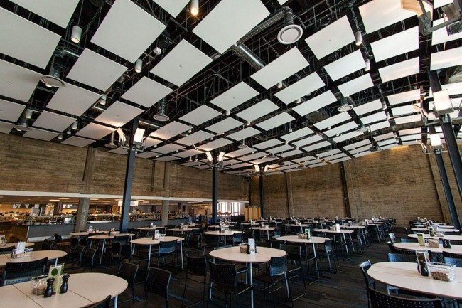 Twitter Cafeteria |© Courtesy of Glassdoor