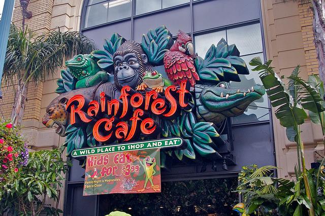 Rainforest Café © Douglas Neiner/Flickr