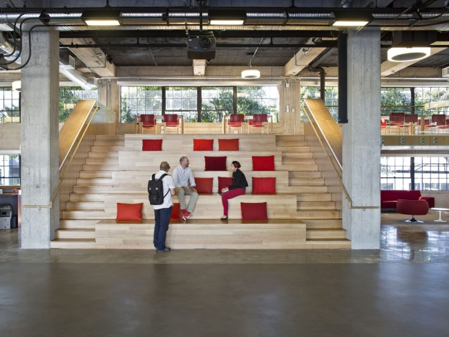 Coolest office spaces in san francisco for International seating decor