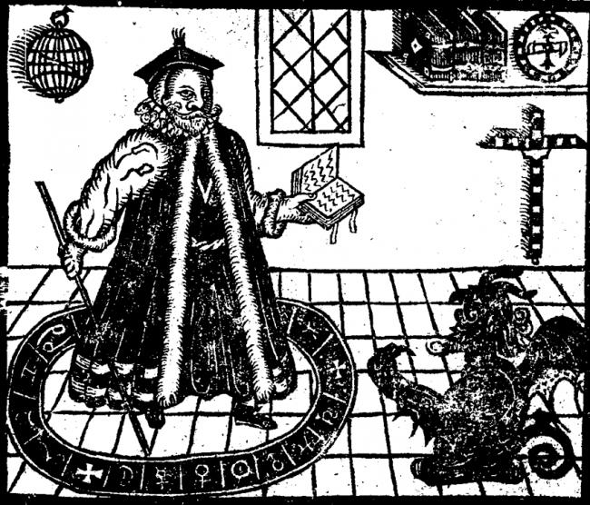 Figure 18 Faustus Summons Mephistopheles