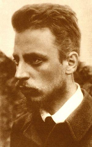 Rainer Maria Rilke 1900 / © wikicommons