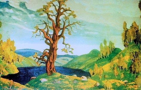 Bozzetto di scenografia - Roerich 1912 | © WikiCommons
