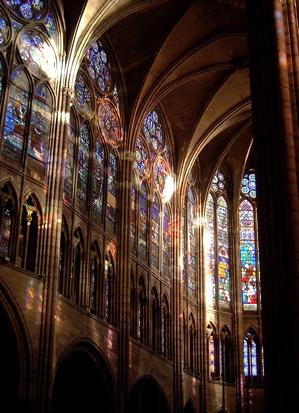 Basilica Saint Denis Interior, Paris | © WikiCommons