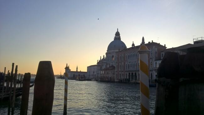 Santa Maria della Salute from across the Grand Canal @ David Hughes