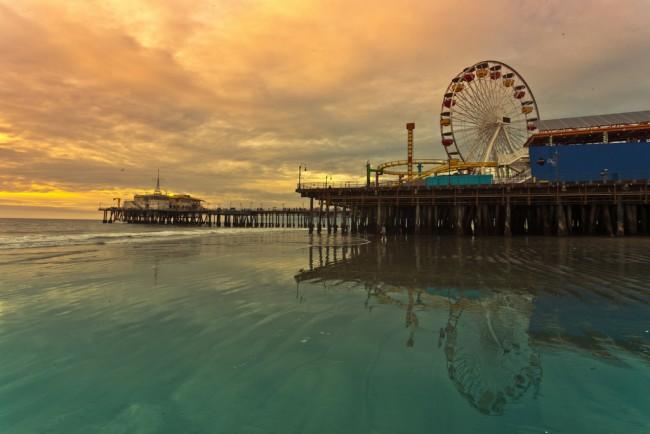 Santa Monica Pier © Boqiang Liao/Flickr