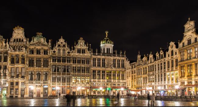 Grand Place by night | © Francesco Crippa/Flickr