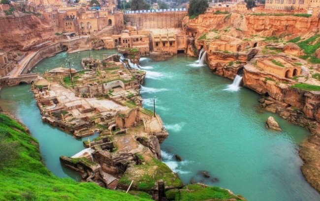 Shushtar Watermills| ©Hosein-hidalo/Wikicommons