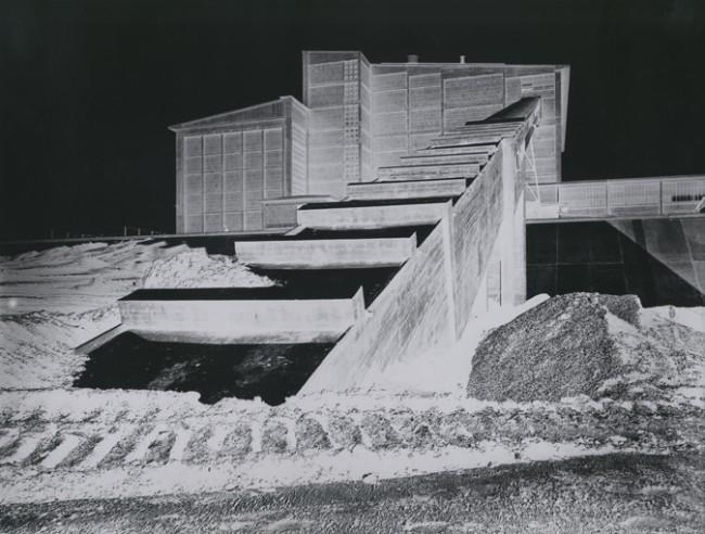 Kraftwerk Bexbach, Saarland | Otto Steinert / © Courtesy Galerie Johannes Faber