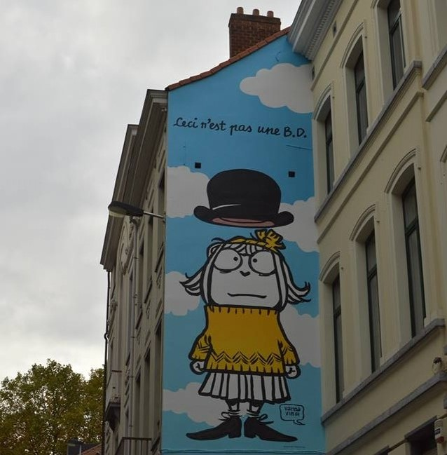 Street Art of Brussels |Courtesy of Cristina Luca