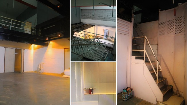 The Black Box Theater Space | View From The Gallery The Stairs Lead To